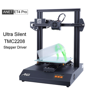 Anet Ultra Silent ET4 Pro 3D Printer With TMC2208 Driver High Precision Prusa i3 FDM DIY 3D Printer With Auto Self Leveling(China)