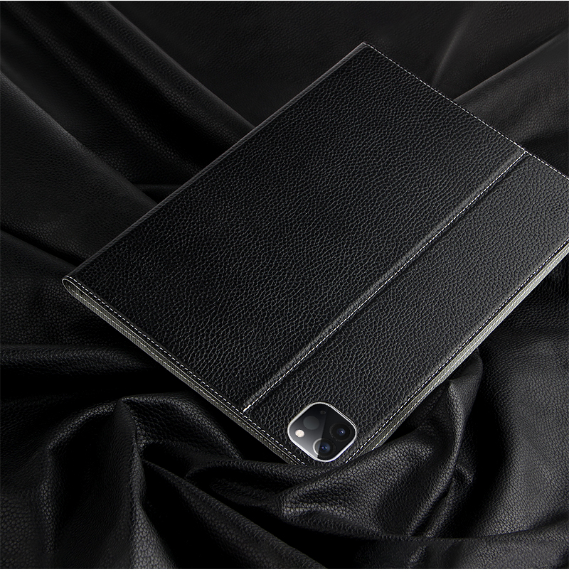 Protective 2th Cowhide A2301 Pro Pro new 11 iPad Cover A2459 Leather For iPad 11 Genuine Case 3th 2021 For case Case 2020 Gen