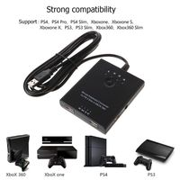 Mouse Keyboard Converter Adapter for PS3 / PS4 / XBox 360 without Delay Compatible with all games
