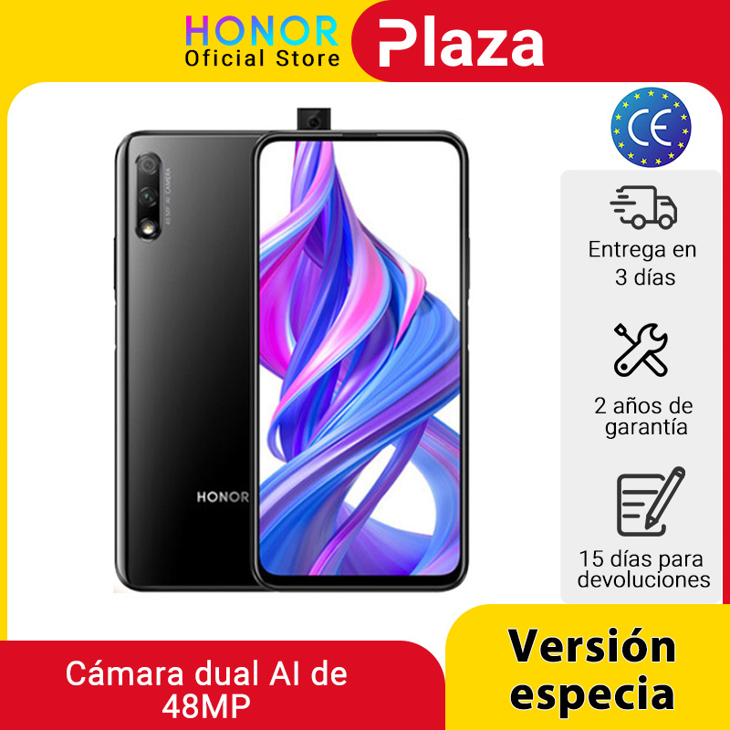 Special Version Honor 9X 4GB 128GB Mobbile phone 48MP AI Dual Camera 6.59'' Mobile Phone Google Play CellPhone