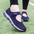 Summer Platform Shoes Fashion Women Flats Sneakers Woman Breathable Mesh Casual Flat Women Ladies Boat Shoes Y2K New 2021