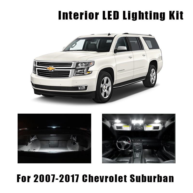 10Pcs White 31mm 6SMD LED Interior Lights For Chevrolet Suburban//Tahoe 2007-up