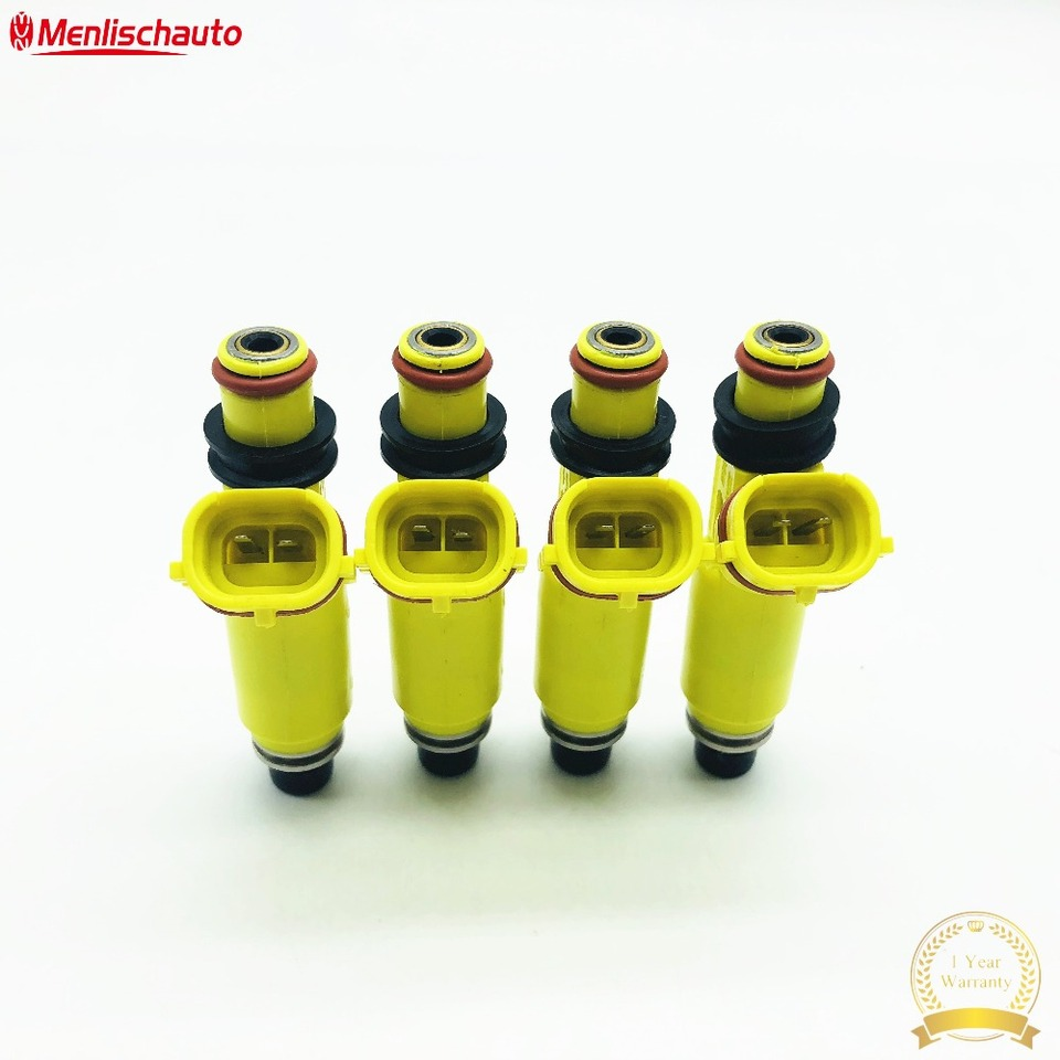 Cuque 195500-4450 1955004450 Fuel Injector Auto Car Fuel Injector Oil Petrol Nozzle Fuel Injection Nozzle Injector PLC for RX-8 2004 2005 2006 2007 2008 ABS Special