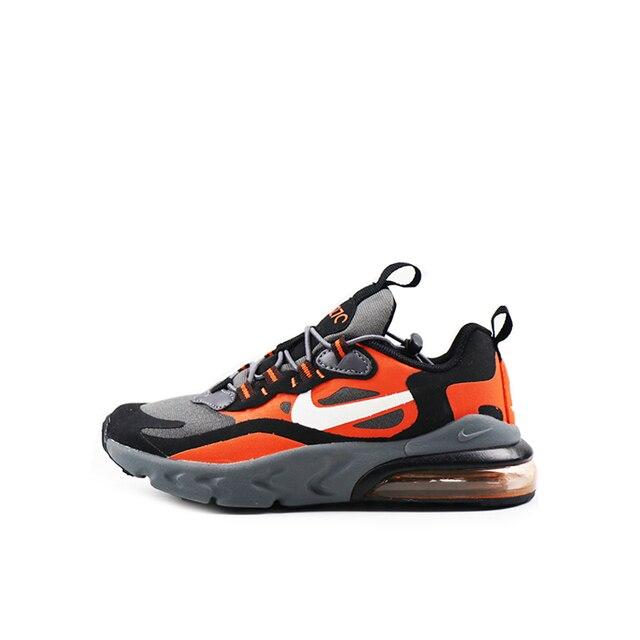 US $47.7 55% OFF|NIKE AIR MAX 270 REACT Kids Original Children Running Shoes Comfortable Sports Outdoor Mesh Sneakers BQ0102 002 on AliExpress