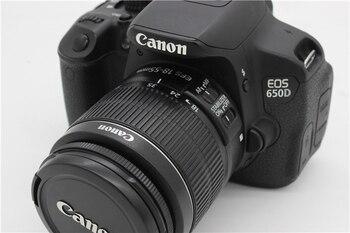 """Se Canon EOS 650D/rebeldes T4i cámara Digital SLR 18MP - APS-C CMOS Sensor 3 """"pantalla táctil"""