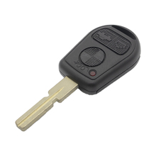 цена на WhatsKey 3 Button Car Key Replacement Remote Key Case Shell For BMW X5 Z3 Z4 E31 E32 E34 E36 E38 E39 E46 Fob Uncut HU58 Blade