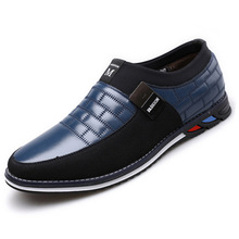 Autumn Spring Mens Pu Leather Sneakers Low Mens Trainers Ten