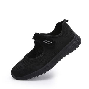 Image 3 - MWY Women Casual Shoes Fashion Breathable knitted Women Sneakers Hook Loop Soft Trainers Outdoor Walking Shoes Chaussure Femme