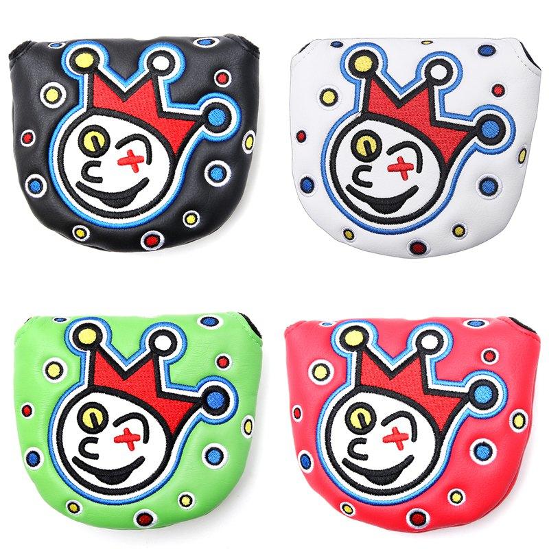 New Joker Clown Design Putter Cover Headcover For Golf Mallet Putter Or Futura Putter
