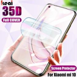 35D pełna pokrywa dla Xiaomi Mi 10 Pro 9 Lite 8 A3 folia na wyświetlacz dla Xiaomi Redmi uwaga 8 7 Pro 9 miękka folia hydrożelowa nie szkło
