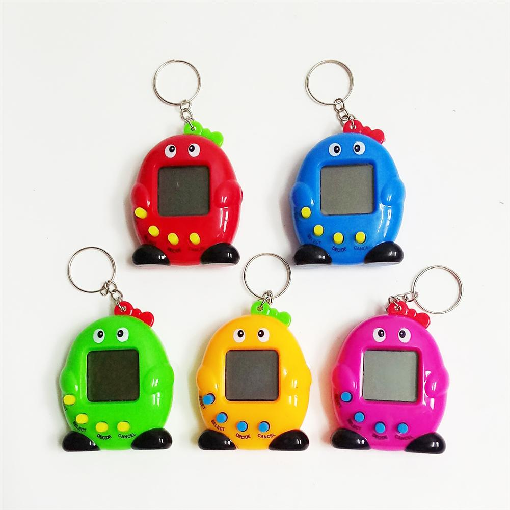 Random Color Intelligence Developmental Electronic Game Machine Virtual Pet Penguin Shaped Video Game Console For Kids Gifts