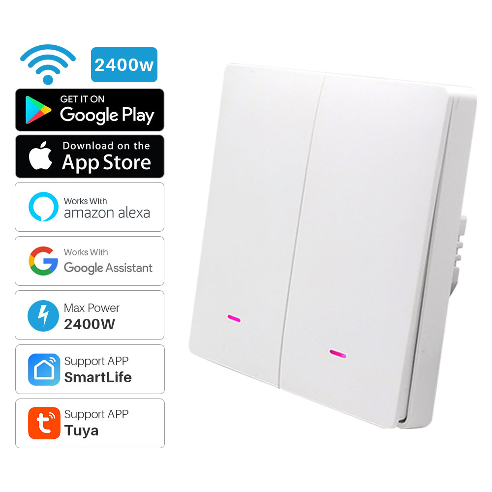 Умный выключатель света с поддержкой Wi-Fi и управлением через приложение