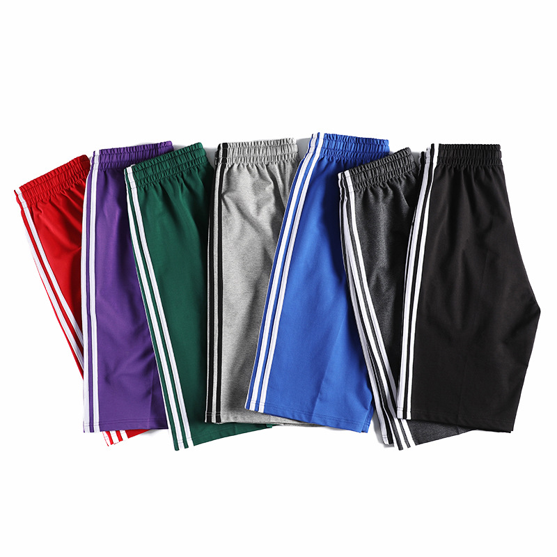 Summer Three Carry Sports Shorts Men's Loose Straight Thin Uniform Pants Korean-style Trend Bermuda Shorts Running Pants