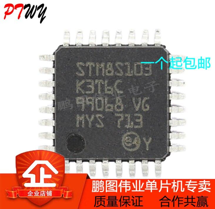 San Новый/оригинальный импортный STM8S103K3T6C LQFP32 Новый одночиповая посылка простая в использовании