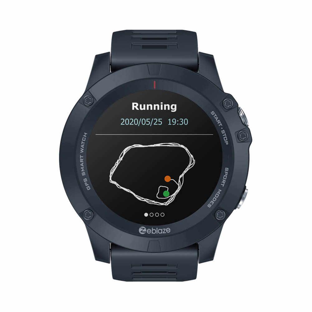 Zeblaze VIBE 3GPS moniteur de fréquence cardiaque IP67 étanche Sport Bluetooth 4.0 montre intelligente GPS/GLONASS positionnement Smartwatch Android