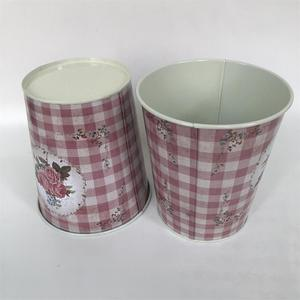 Image 3 - 10Pcs/Lot D12.5xH14CM Metal Vase Iron Planter Tin Boxes Wedding Centerpieces Home Decor