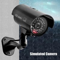 Simulation Dummy Kamera Kugel Gefälschte Überwachung CCTV Kamera ABS Engineering Kunststoff Halterung für Home Security 160x124x85mm