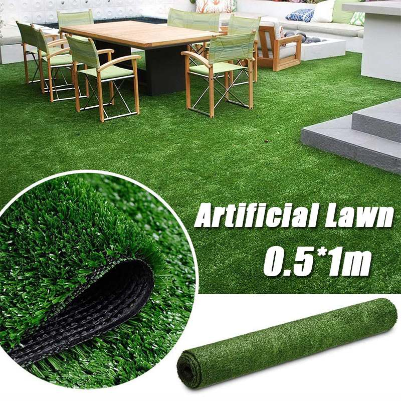 10/25mm Length Artificial Lawn Turf Grass Artificial Lawn Carpet Simulation Outdoor Green Lawn For Garden Lawn Patio Landscape