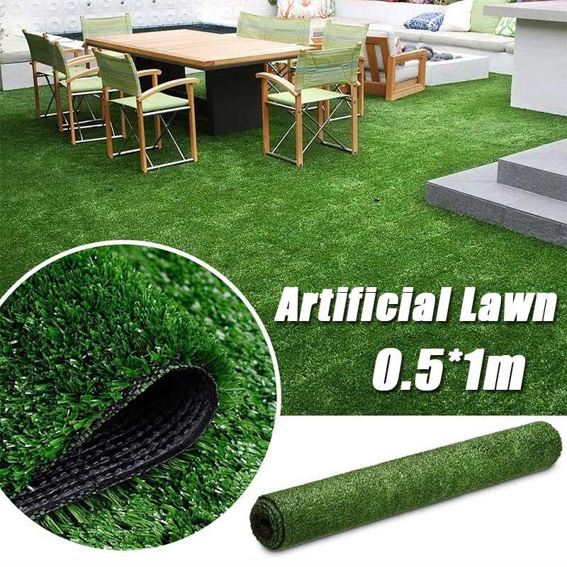 10/25mm Length Artificial Lawn Turf Grass Artificial Lawn Carpet Simulation Outdoor Green Lawn For Garden Lawn Patio Landscape