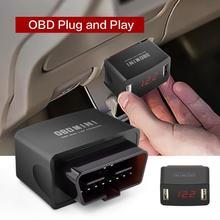12/24V OBD LED Voltage Display Dual USB Charging Port Car Vehicle Phone Charger USB Charging Port Car Vehicle Phone Charger Char