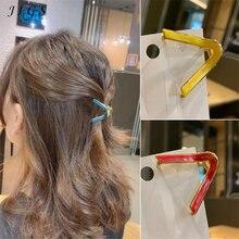 Модные геометрические Когти для волос в Корейском стиле женщин