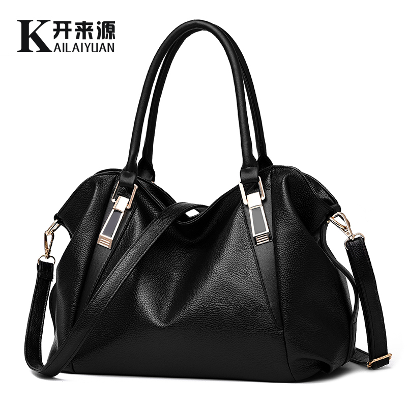 100% Genuine Leather Women Handbag 2019 New Classic Casual Fashion Female Cross Hand Bag Of Bill Of Lading Messenger Bag