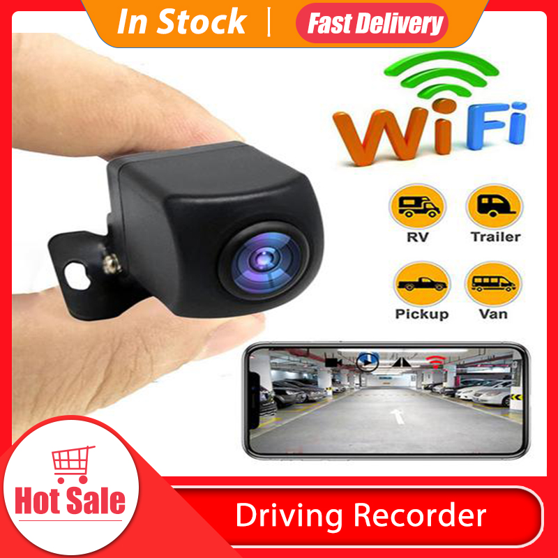 WiFi Wireless HD 1080P Rear View Camera Car Backup Camera 170 Wide View Angle IP67 Waterproof Reverse Auto Back Up Car Camera