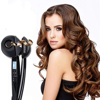 Shopify High Quality LCD Screen Magic Hair Curler Automatic Loop Iron Hair Care Styling Tool Ceramic Wave Magic Hair Curler