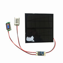 6V 3W Solar panel with Solar min battery charger with battery display DIY KIT PH 2.0 Cable(China)