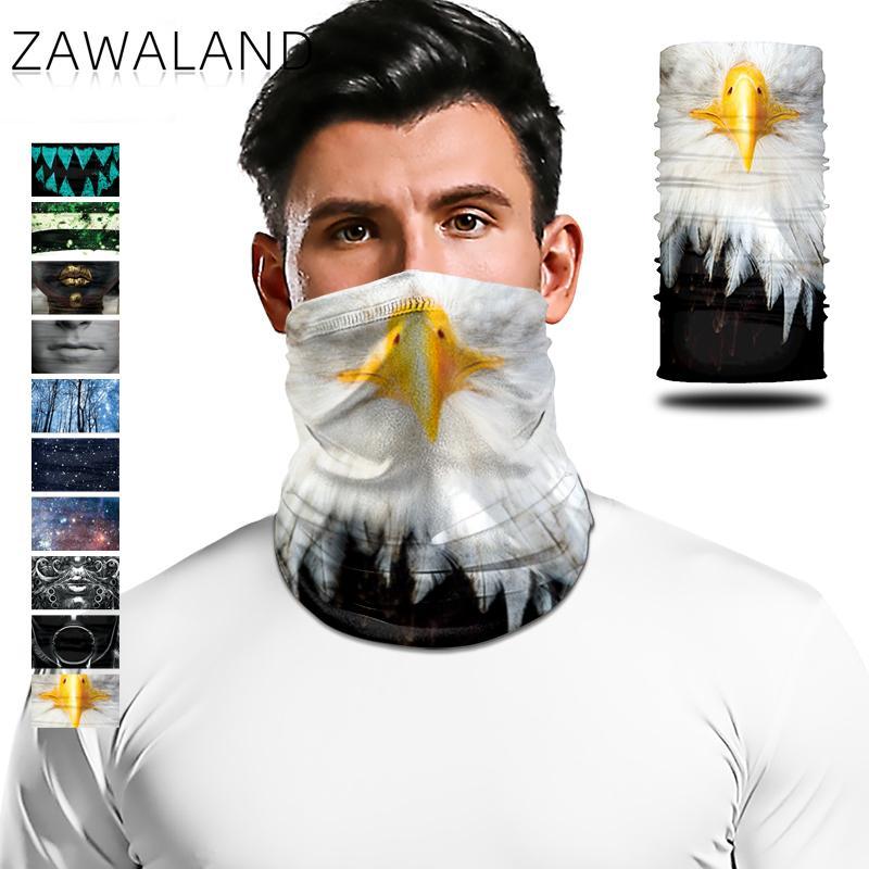 Zawaland Multifunctional Neck Scarf Windproof Face Bandana Riding Trekking Headwear Scarf For Women Men
