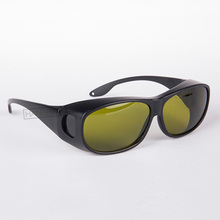 IPL safety goggles  IPL-3 (190-2000nm) CE with high visible transmittance style 9