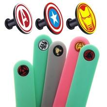 Кнопка для mi Band 4/3 силиконовый ремешок для xiaomi mi band 4 не выцветает металлические кнопки аксессуары браслет mi band 4 кнопки