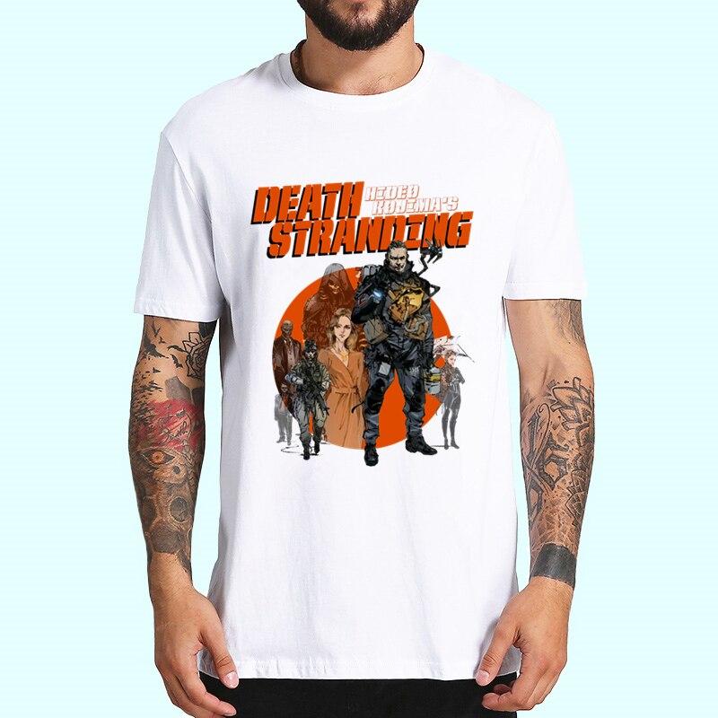 Game Death Stranding Tshirts Men Fashion Summer T-shirts Tshirt Hip Hop Girl Printed Top Tees Streetwear Harajuku Funny