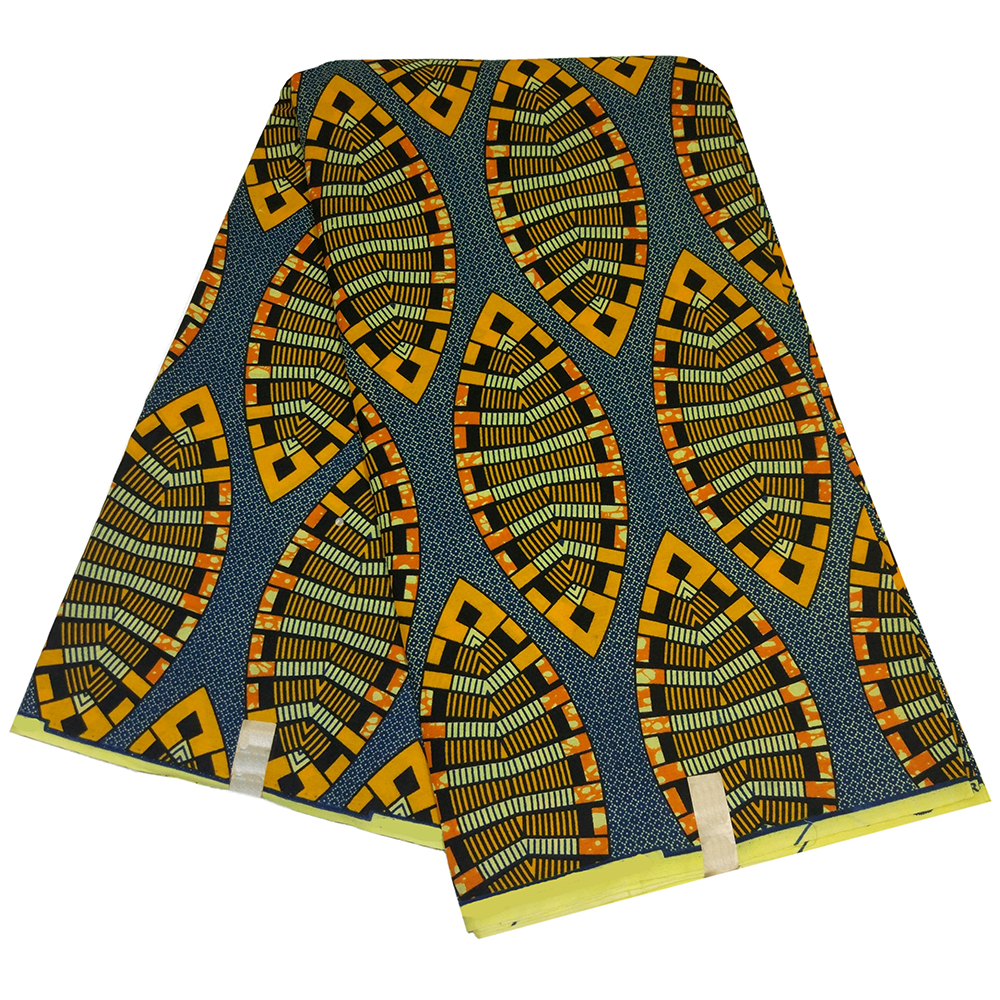 2019 Newest Fashion Arrivals Tela Estampadas Verdes African Ankara Nigeria Guaranteed Wax Printed Fabric 100% Polyester