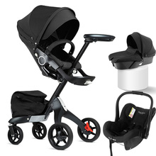 3 in 1 baby stroller luxury high land scape dsland sitting h