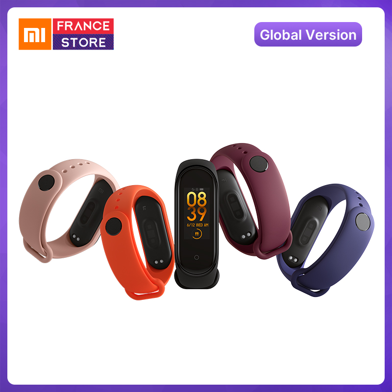 Global Version Xiaomi Mi Band 4 Smart watch Band Fitness Bracelet Heart Rate Tracker Colorful Display Instant Message 135mAh xiaomi mi band 4