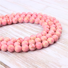 Wholesale Emperor Fan Natural Stone Beads Round Beads Loose Beads For Making Diy Bracelet Necklace 4/6/8/10/12MM
