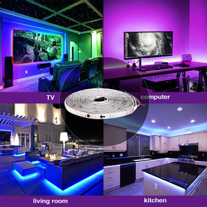 Image 5 - 5m 2811 IC 5050 RGB LED Strip Light 12V WS2811 30 LEDs/m Pixels Programmable Individual Addressable Diode Tape Lamp TV Backlight