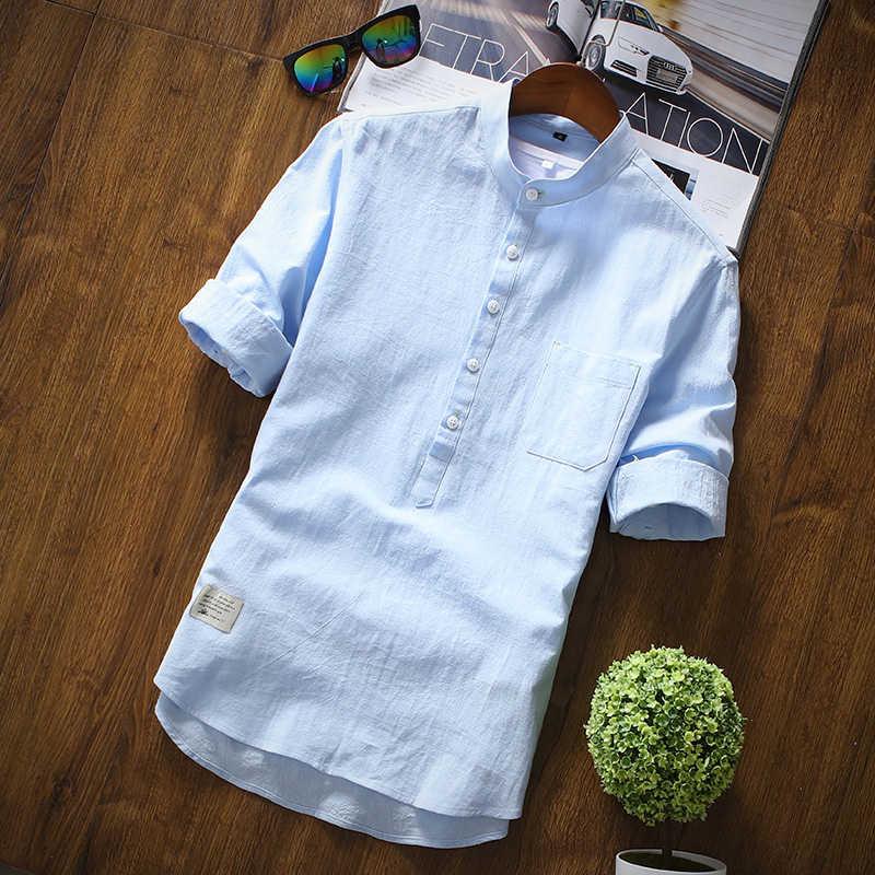 Летняя мужская рубашка с коротким рукавом белая рубашка тонкая деловая работа профессиональное платье Корейская версия эластичных Бесплатная горячая распродажа