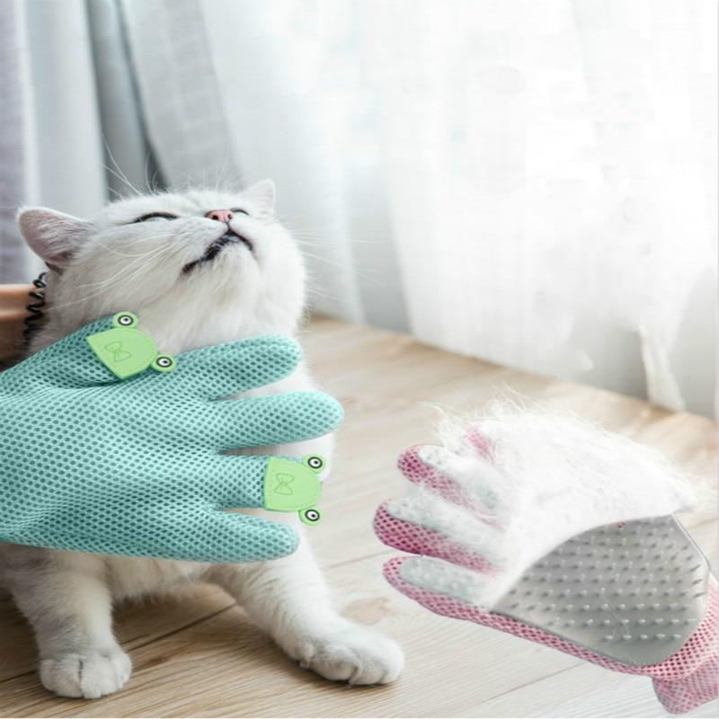 Купить универсальные варежки для удаления шерсти кошек перчатки груминга