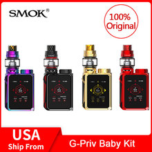 Original SMOK G-Priv Baby Kit Luxe Edition 85W with V12 Baby Prince Tank + Coils Electronic cigarette VS X PRIV/G PRIV/Mag vape цена