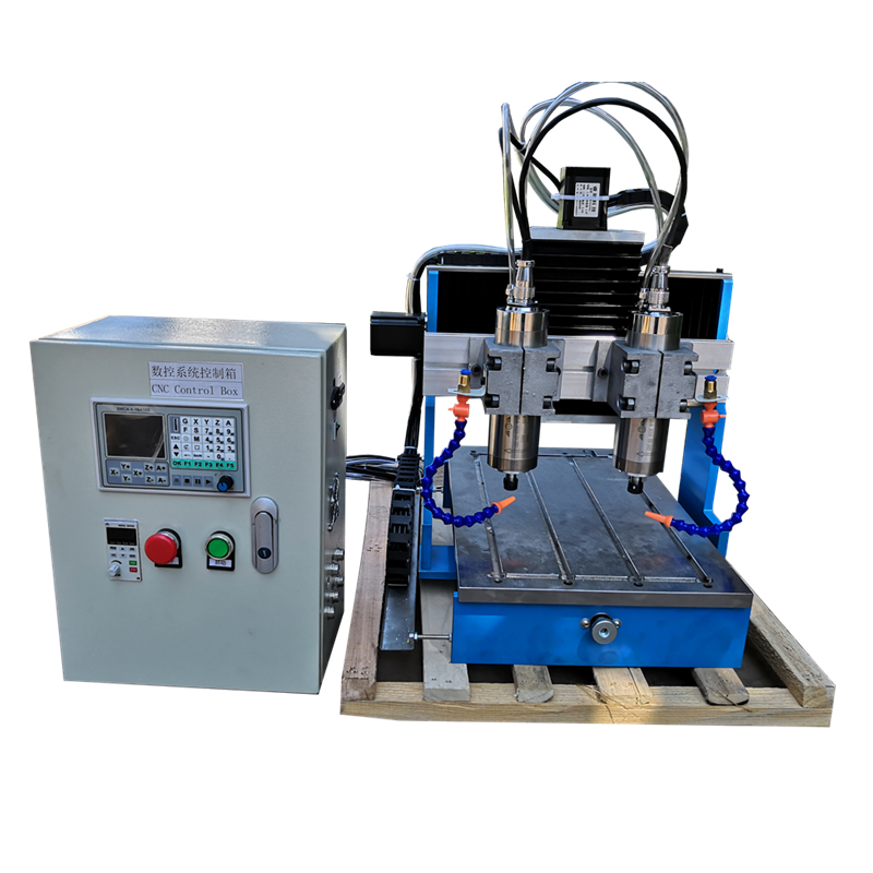 <font><b>60</b></font>*<font><b>40</b></font> <font><b>CNC</b></font> router Offline DSP control system milling Engraving machine LY 6040L disk read G code Linear Guide Rail steel table image