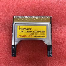 Novo a02b-0303-k150 cf cartão slot fanuc pcmcia cartão compacto adaptador de cartão de pc