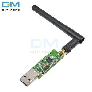 Image 2 - ワイヤレスzigbee CC2531 パケットスニッファーソフトウェアベアボードパケットプロトコルアナライザbluetoothモジュールとアンテナusbインタフェースドングルキャプチャ