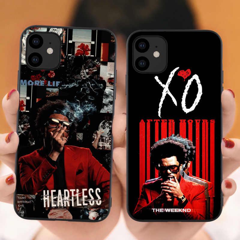 The Weeknd Après Heures étui En Silicone De conception Pour iPhone 12 SE 2020 11 XO Couverture Souple Pour iPhone 11 Pro 6s 7 8 Plus XR XS Max