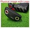 Golf Putter Left Hand Right Hand Putter NEWPOR 2 Black Left Hand Small Semicircle Putter Hybrid Golf Club with wrench