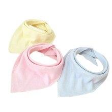 Регулируемый нагрудник для малышей из хлопчатобумажной ткани, бандана для девушки, нагрудники для малышей, удобные Слюнявчики для прорезывания зубов, нагрудники для новорожденных