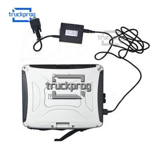 Image 4 - Dla Jungheinrich wózek widłowy Incado interfejs diagnostyczny USB przewód połączeniowy CF19 laptop Judit wózki widłowe narzędzie diagnostyczne