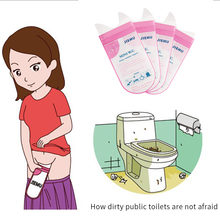 4PCS 700ml Freien Handliche Mini W.C. Notfall Tragbare Auto Urin Tasche Erbrochenem Taschen Mini Mobile Toiletten Einweg Unisex Mit