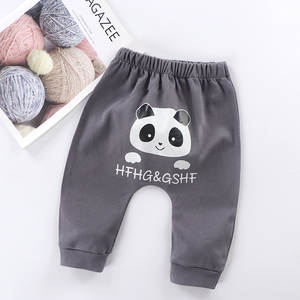 Newborn Trousers Long Pants Panda Pant Clothing For Baby Boy Girl Pantolon Trousers Clothes